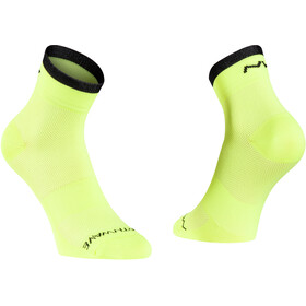 Northwave Origin Sokken, yellow fluo/black